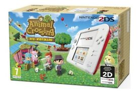 Nintendo 2ds & animal crossing