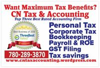 Tax, Accounting, Bookkeeping , Payroll & Commissioner of Oaths