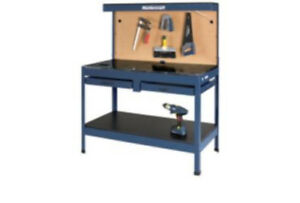 Mastercraft workbench.  Used. Assembled. Great condition .