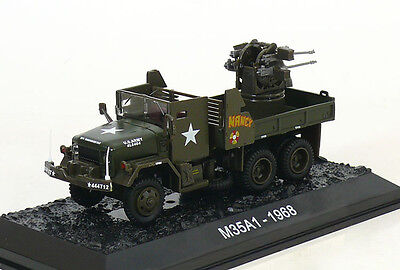 "ALTAYA by AMERCOM 1/72 M35A1 2.5Ton Gun Truck ""Nancy"" US Army Vietnam 1968 for sale  Shipping to Canada"