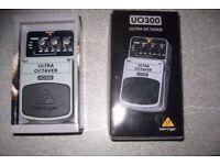 Behringer ultra octave pedal