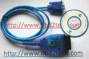 Volvo Code Reader Oil Service Reset Tool PC Cable