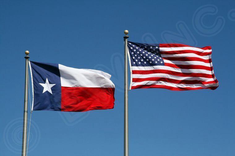 3' X 5' 3x5 USA Flag American Flag Texas State Flag WHOLESAL