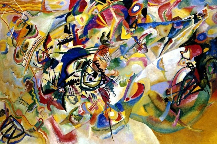 Russian artist and Bauhaus instructor, Wassily Kandinsky was a key figure  in the development of  Revealed: Top 10 Talented Famous Contemporary  Artists