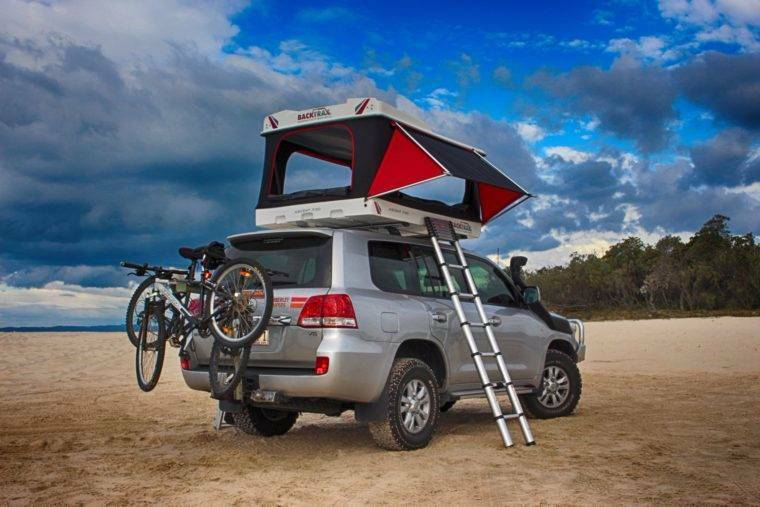 1 of 6 & BACKTRAX SPORTS UTILITY ROOF TENT (Hard Shell Roof Tent) | Camping ...