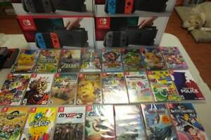 EASTER LIQUIDATION DEAL !! NINTENDO SWITCH WITH 2 GAMES 419.99