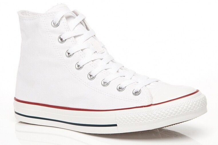 NUOVO Converse All Star Scarpe Da Uomo Chucks m7650 AS HI CAN OPTIC BIANCO WHITE MEN