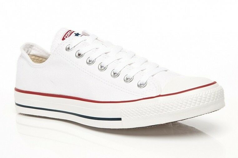Linea UOMO DONNA MARCA CONVERSE ALL STAR OPTICAL BIANCO M7652C Basso Top Formatori