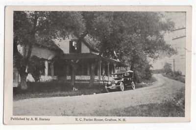 Grafton, New Hampshire, Early View of The E. C. Pariso House