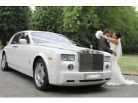 Phantom Rolls Royce, wedding car hire, prom, led dancefloor, limousine, flowerwall, ice cream bike