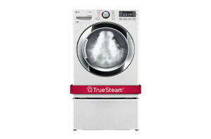 LG STEAM DRYERS @ GREAT SAVINGS. DLEX3370W NEW IN THE BOX