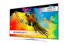 LG 55 inch 4K Super Ultra HD Smart HDR LED TV with all Apps built in