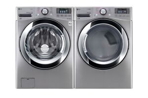 """Front Load Washer &  Dryer, 27"""" Width, Energy Efficient, $1699"""