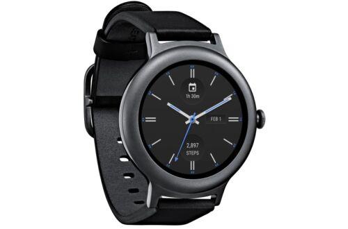 LG Watch Style Smartwatch 42.3mm Stainless Steel Titanium LGW270.AUSATN