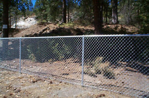 Looking for chain link fence 5 foot tall silver two feet long