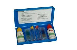 2 way swimming pool spa test kit chlorine ph water chemical testing ebay for Swimming pool test kits amazon