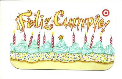 Target Feliz Cumple! Candles Birthday Cake Gift Card No $ Value Collectible 1816](Target Birthday Cakes)