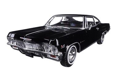 Welly 1965 65 Chevrolet Impala SS 396 diecast model BLACK 1/24 scale 22417