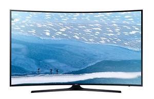 "SAMSUNG TV 65"" 4K CURVED SMART SÉRIE 6"