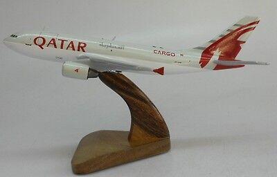 A 300 Qatar Airways Airbus A300 Airplane Wood Model Free Shipping Regular