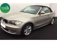 £157.14 PER MONTH SILVER 2010 BMW 118i 2.0 SE CONVERTIBLE PETROL MANUAL