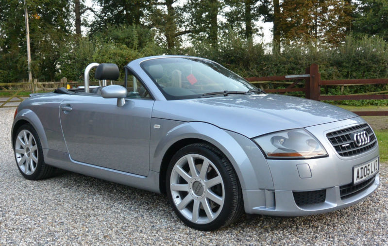 2005 audi tt 3 2 v6 quattro convertible 2dr sports coupe. Black Bedroom Furniture Sets. Home Design Ideas