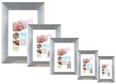 Wholesale Photo Frames (Photo Picture Frames x 12 - Wholesale - 5 Sizes)