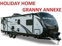 AMERICAN CARAVAN RV STATIC - Mobile Holiday Home - 5th WHEEL - Granny Annexe