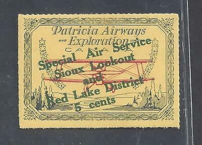 Canada SEMI-OFFICIAL AIR SIOUX LOOKOUT & RED LAKE SCOTT CL26e VF MINT (BS19992)
