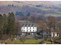 Immediate start- duty manager, busy rural Highland hotel