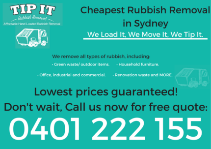 SYDNEY'S CHEAPEST RUBBISH REMOVAL