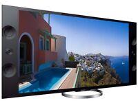 """Sony 65"""" Ultra HD 4K LED 3D Smart TV with Wifi, Freesat HD & Freeview HD"""