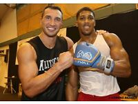 2X Tickets Joshua vs Klitschko FLOOR SEATS BLOCK V