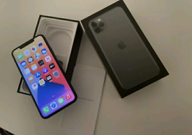 iPhone 11 ProMax 64GB Space Grey UNLOCKED NEW CONDITION UK Apple Warr