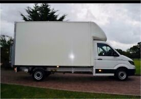 man with a van house removal office commerical moving sofa furniture delivery