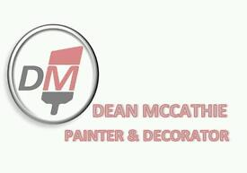 Painter and decorator required. Full time job.