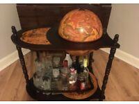 Globe bar cabinet still in the box £85 ono