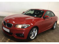 BMW 220 M Sport FROM £88 PER WEEK!