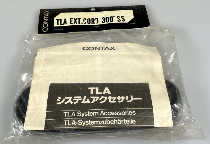 Contax TLA Extension Cord 300SS New Old Stock