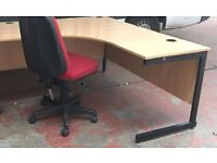Very Robust Office Desk/Workbench L160xW160xD80xH73cm