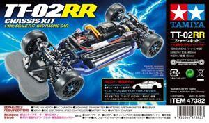 Tamiya 47382 TT-02RR Chassis Kit RC Racing Chassis Car Kit