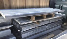 Steel galvanised roof sheets