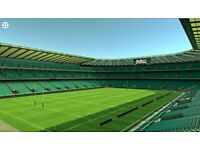 ENGLAND V IRELAND - 2 x CATEGORY B TICKETS - BLOCK M14 - RUGBY SIX NATIONS 2018