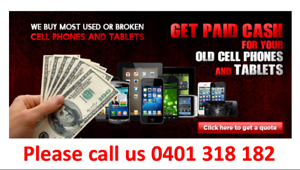 INSTANT CASH FOR NEW/ USED / BROKEN-iPHONE-GALAXY-iPAD-TABLETS