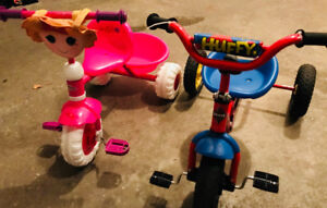His/hers tricycles