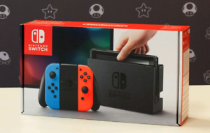 Brand new nintendo switch neon for trade