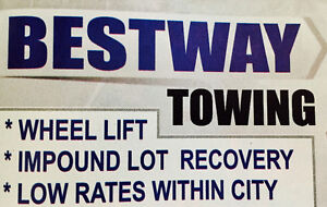 Cheap tow -BESTWAY TOWING 403-293-3393 Flat rates
