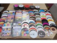 Collection of 362 CD's good mixture of music