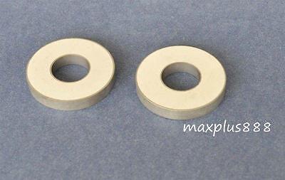 2 New 41.5khz Ultrasonic Piezoelectric Transducer Element Ceramic Ring 38155