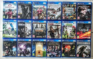 PlayStation 4 games for sale (REDUCED as low as $10)